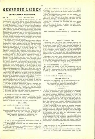 Handelingen van de Raad 1942-12-01