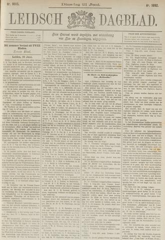 Leidsch Dagblad 1892-06-21