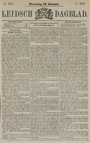 Leidsch Dagblad 1882-01-16