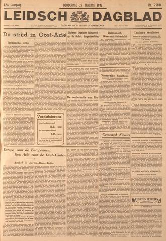 Leidsch Dagblad 1942-01-29