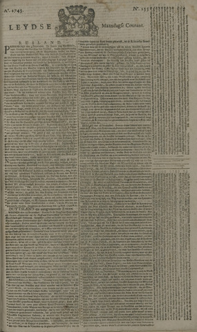 Leydse Courant 1745-12-27