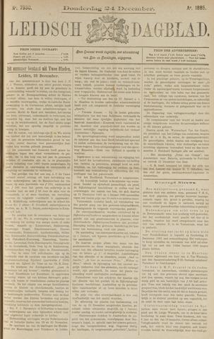 Leidsch Dagblad 1885-12-24