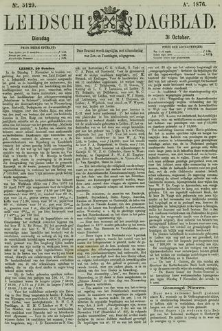 Leidsch Dagblad 1876-10-31