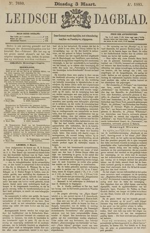 Leidsch Dagblad 1885-03-03
