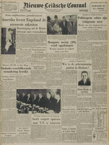 Nieuwe Leidsche Courant 1957-02-04