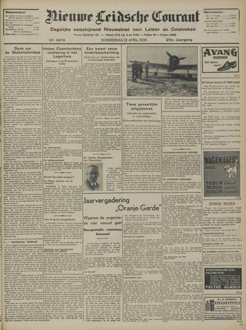 Nieuwe Leidsche Courant 1939-04-13