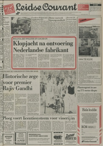 Leidse Courant 1984-12-29