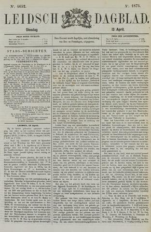 Leidsch Dagblad 1875-04-13