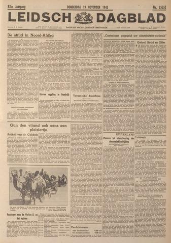 Leidsch Dagblad 1942-11-19