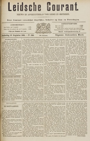 Leydse Courant 1885-08-27