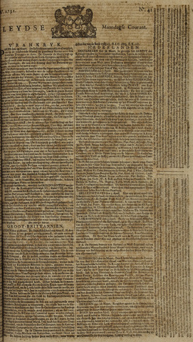 Leydse Courant 1751-04-05