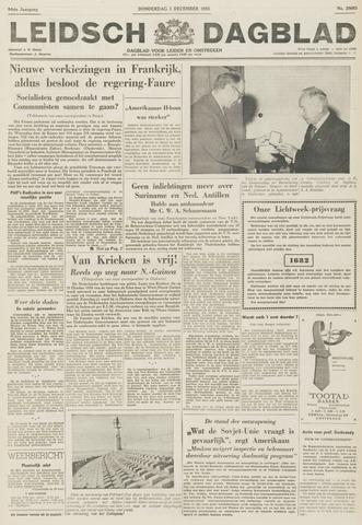 Leidsch Dagblad 1955-12-01
