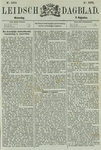 Leidsch Dagblad 1876-08-09