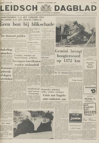 Leidsch Dagblad 1966-09-14