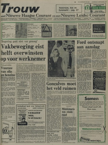 Nieuwe Leidsche Courant 1975-09-06