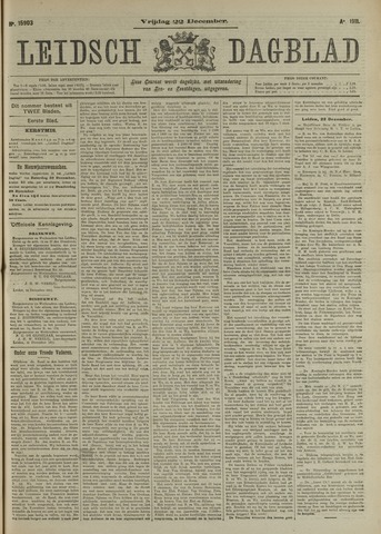 Leidsch Dagblad 1911-12-22