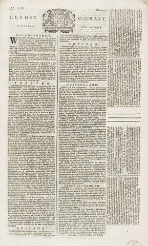 Leydse Courant 1818-10-07