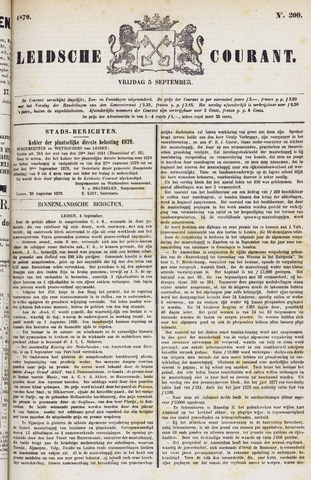 Leydse Courant 1879-09-05