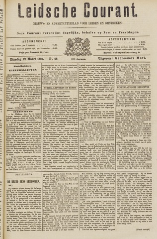 Leydse Courant 1887-03-22