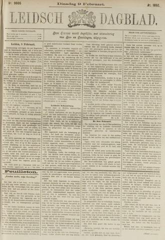 Leidsch Dagblad 1892-02-09