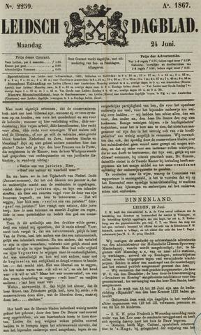 Leidsch Dagblad 1867-06-24