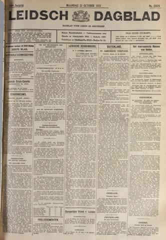Leidsch Dagblad 1933-10-23