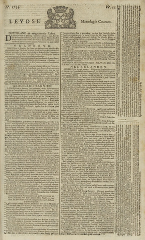 Leydse Courant 1754-01-28