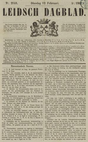 Leidsch Dagblad 1867-02-12