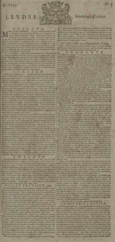 Leydse Courant 1743-01-14