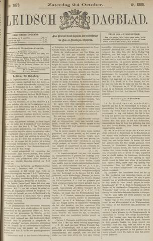 Leidsch Dagblad 1885-10-24