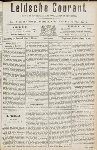 Leydse Courant 1890-01-25