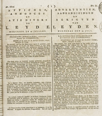 Leydse Courant 1812-07-22