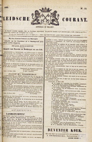 Leydse Courant 1883-03-27