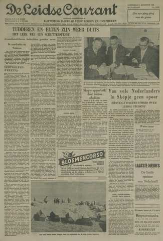 Leidse Courant 1963-08-01