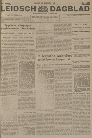 Leidsch Dagblad 1940-08-13