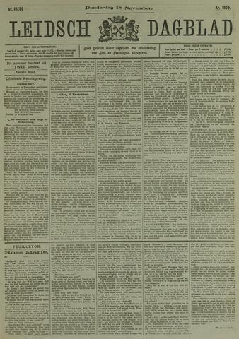 Leidsch Dagblad 1909-11-18