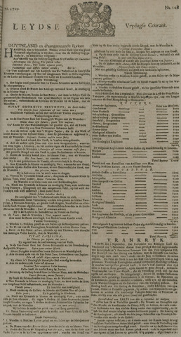 Leydse Courant 1729-09-09