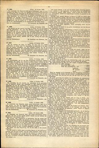 Handelingen van de Raad 1879-10-10