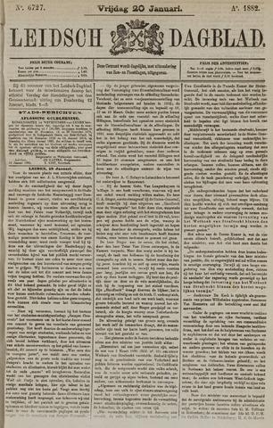 Leidsch Dagblad 1882-01-20