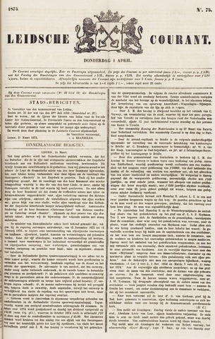 Leydse Courant 1875-04-01