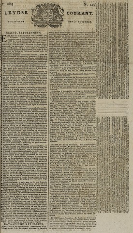 Leydse Courant 1803-11-30