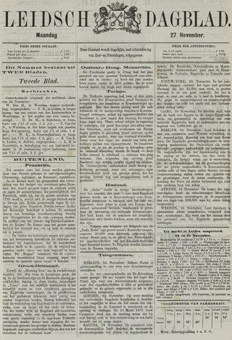 Leidsch Dagblad 1876-11-27