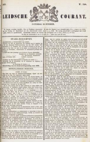 Leydse Courant 1877-10-20
