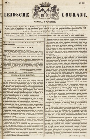 Leydse Courant 1872-11-04
