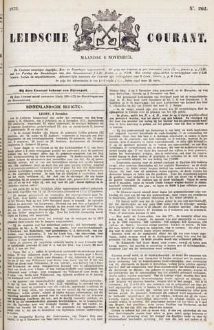Leydse Courant 1876-11-06