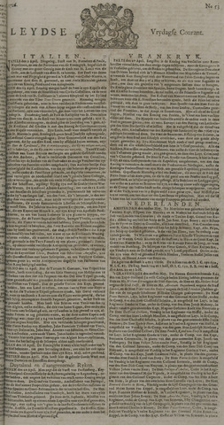 Leydse Courant 1726-05-03