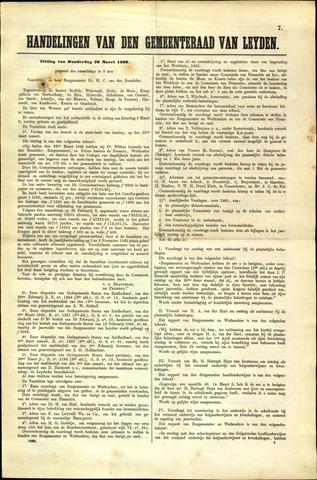Handelingen van de Raad 1866-03-29