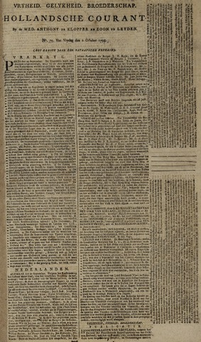 Leydse Courant 1795-10-02