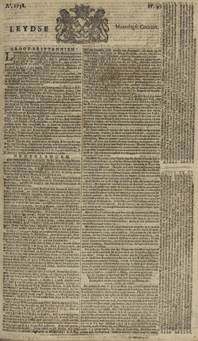 Leydse Courant 1758-08-14