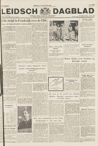 Leidsch Dagblad 1954-08-27